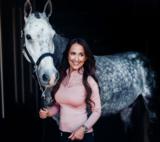 Equestrian Stockholm champion top pink_