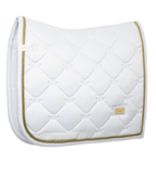 Equestrian Stockholm White Perfection Gold bandages_