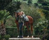 Equestrian Stockholm Olive dressuur_
