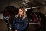 Equestrian Stockholm Merlot Crystal dressuur _