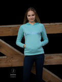 Le Mieux luxe hoodie Azure_