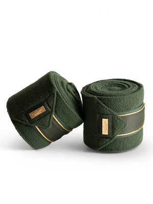 Equestrian Stockholm Bandages Forest Green