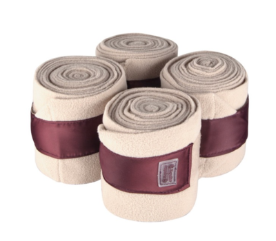 Equito bandages  Champagne plum