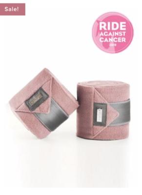 Equestrian Stockholm Bandages Pink
