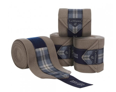 Le Mieux Heritage Polo Bandages Navy