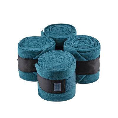 Equito bandages zwart - teal