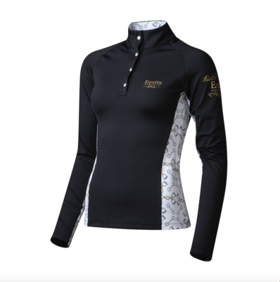 Equito trainingshirt  zwart