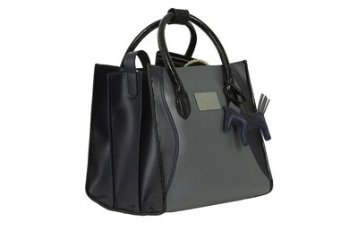 PS of Sweden Grooming bag  Charcoal / Deep saphire