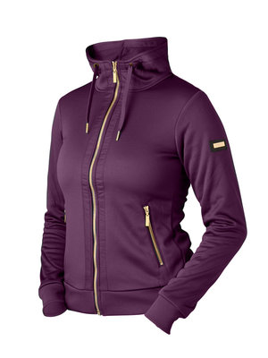 Equestrian Stockholm Purple Gold Hoody