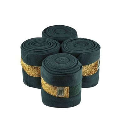 Equito bandages groen goud
