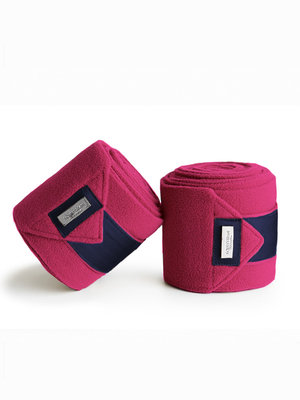 Equestrian Stockholm bandages Faded Fuchsia