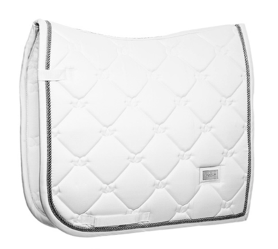 Equestrian Stockholm White Perfection Silver Dressage
