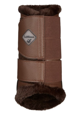 Le Mieux Fleece Lined Brushing Boots Brown