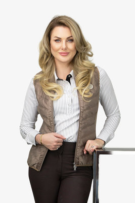 PS of Sweden bodywarmer Sofia beige