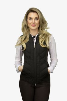 Ps of Sweden bodywarmer Sofia Chocolate
