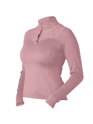 Equestrian Stockholm champion top pink