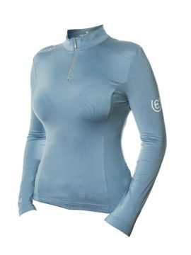 Equestrian Stockholm Steel Blue uv top