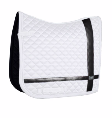 Equestrian Stockholm No Boundaries White dressuur pad