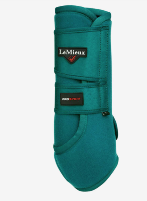 Le Mieux support boot Peacock Green