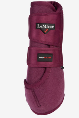 Le Mieux support boot Plum
