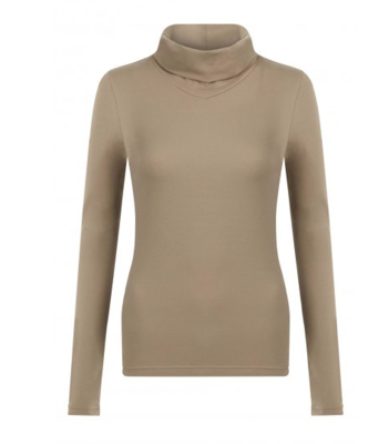 Le Mieux Base roll neck baselayer Mink