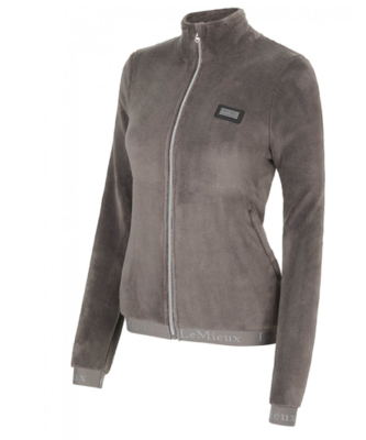 Le Mieux Liberte fleece jacket Grijs