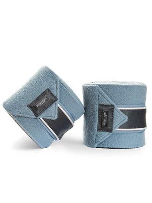 Equestrian Stockholm bandages steel blue