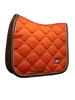 Equestrian Stockholm Brick Orange dressuur  full