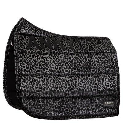 Anky zadelpad dressuur Leopard Zilver  full