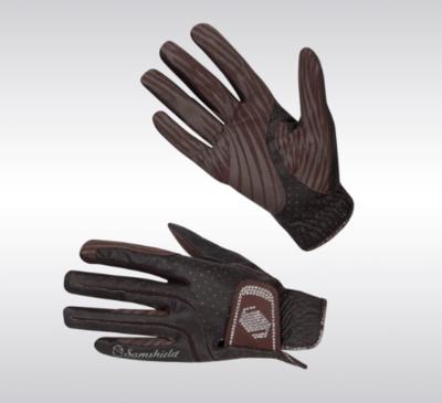 Samshield handschoenen SWAROVSKI bruin