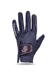 Samshield handschoenen SWAROVSKI blue rose gold
