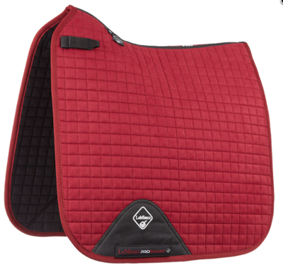 Lemieux Dressage Suede Berry Red
