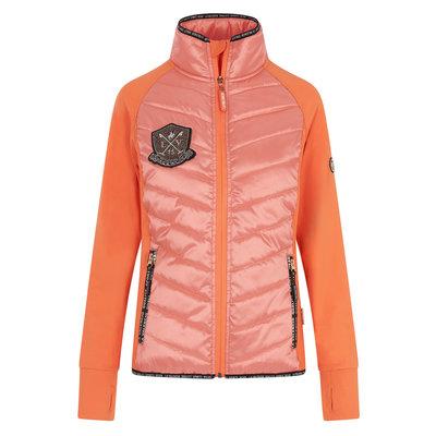 La Valencio vest Khyra Salmon Pink