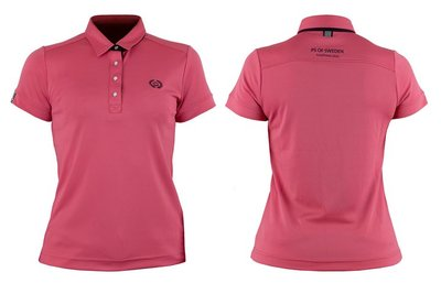 Ps of Sweden Darling poloshirt cranberry