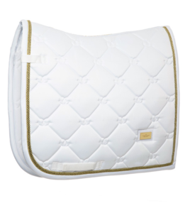 Equestrian Stockholm White Perfection Gold Dressage