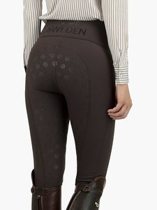 Ps of Sweden Brooklyn highwaist rijbroek  Chocolate