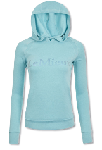 Le Mieux luxe hoodie Azure